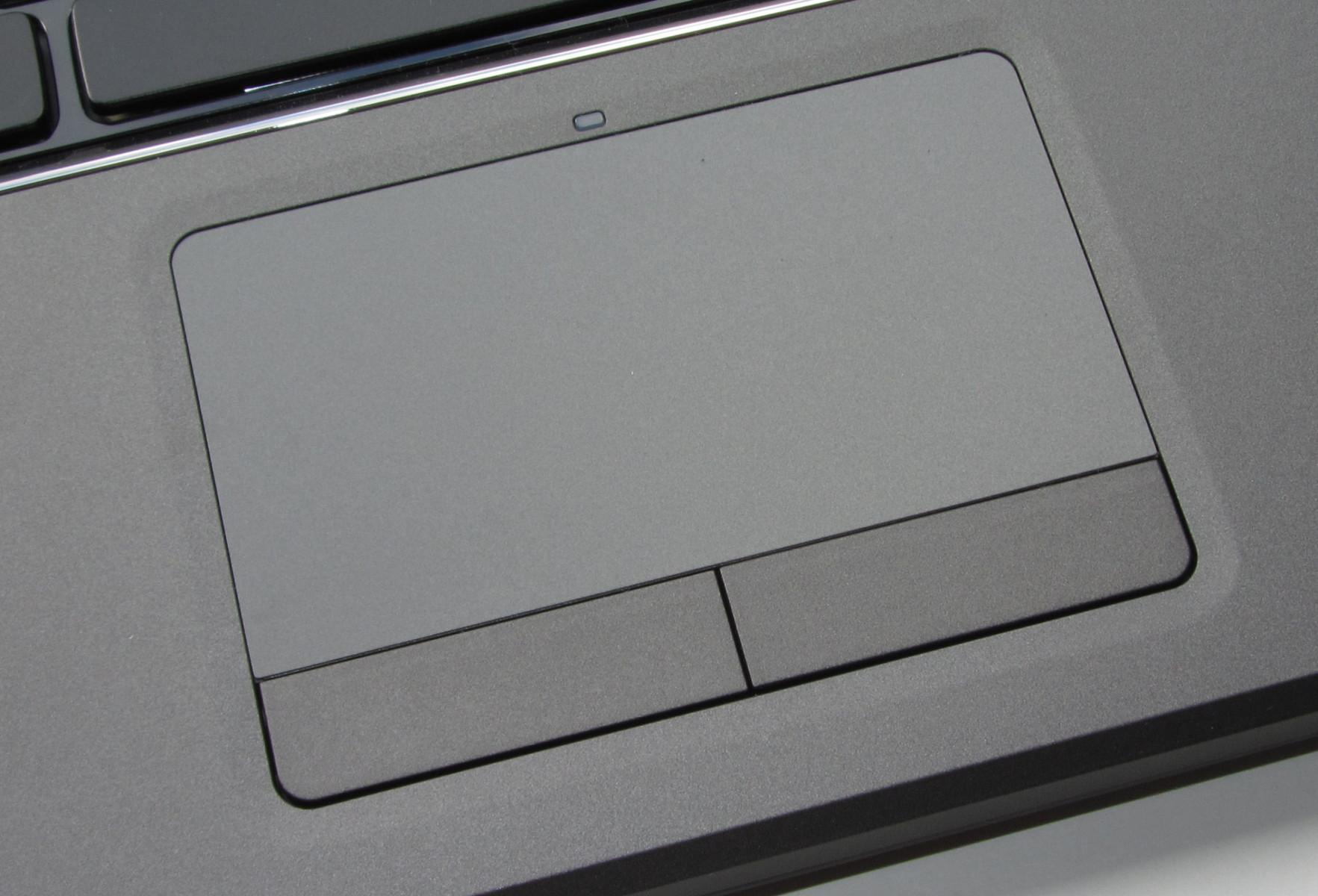 Touchpad de un ordenador portátil