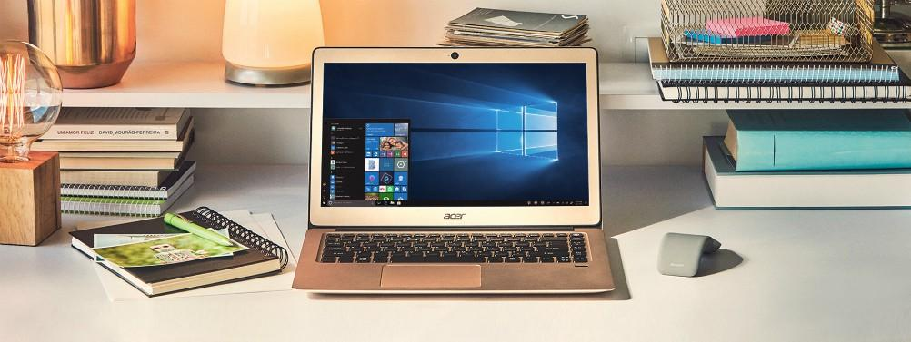 Ordenador portátil con Windows 10