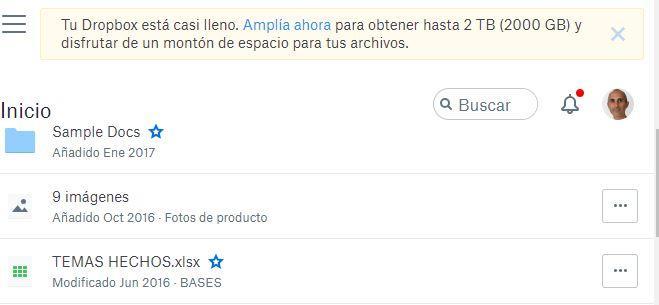 Seleccionar archivo de Dropbox en Gmail