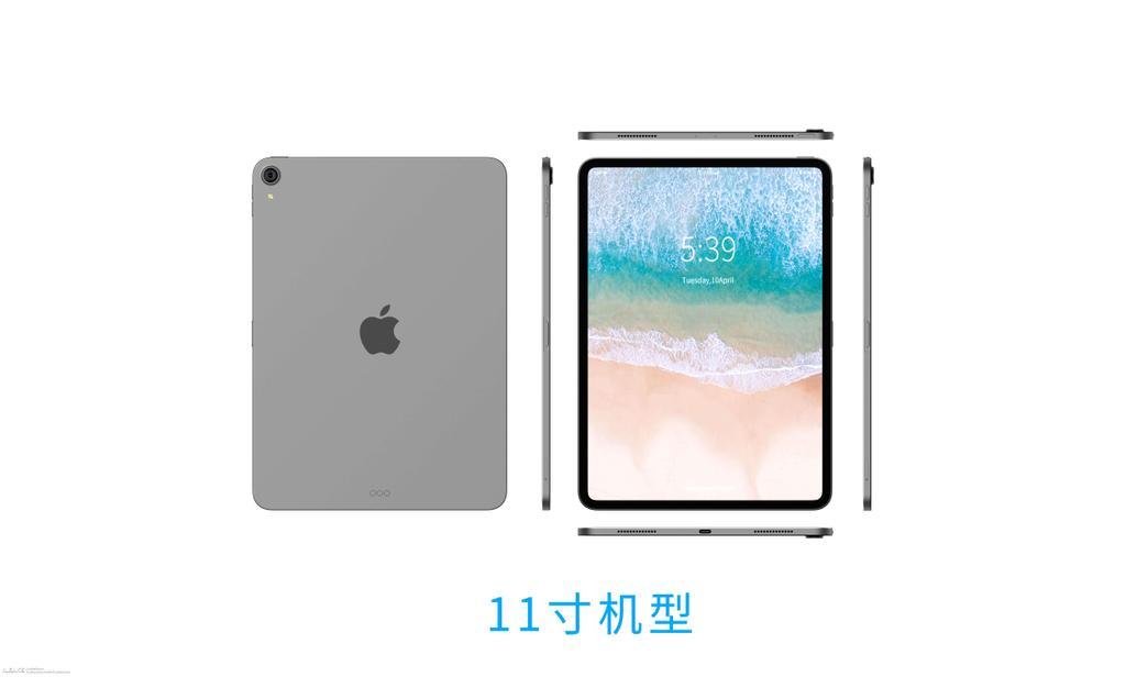 Aspecto del iPad Pro 2018