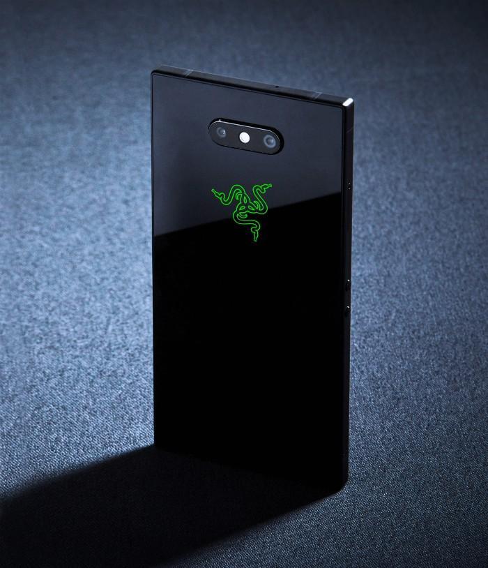 Cámara trasera del Razer Phone 2