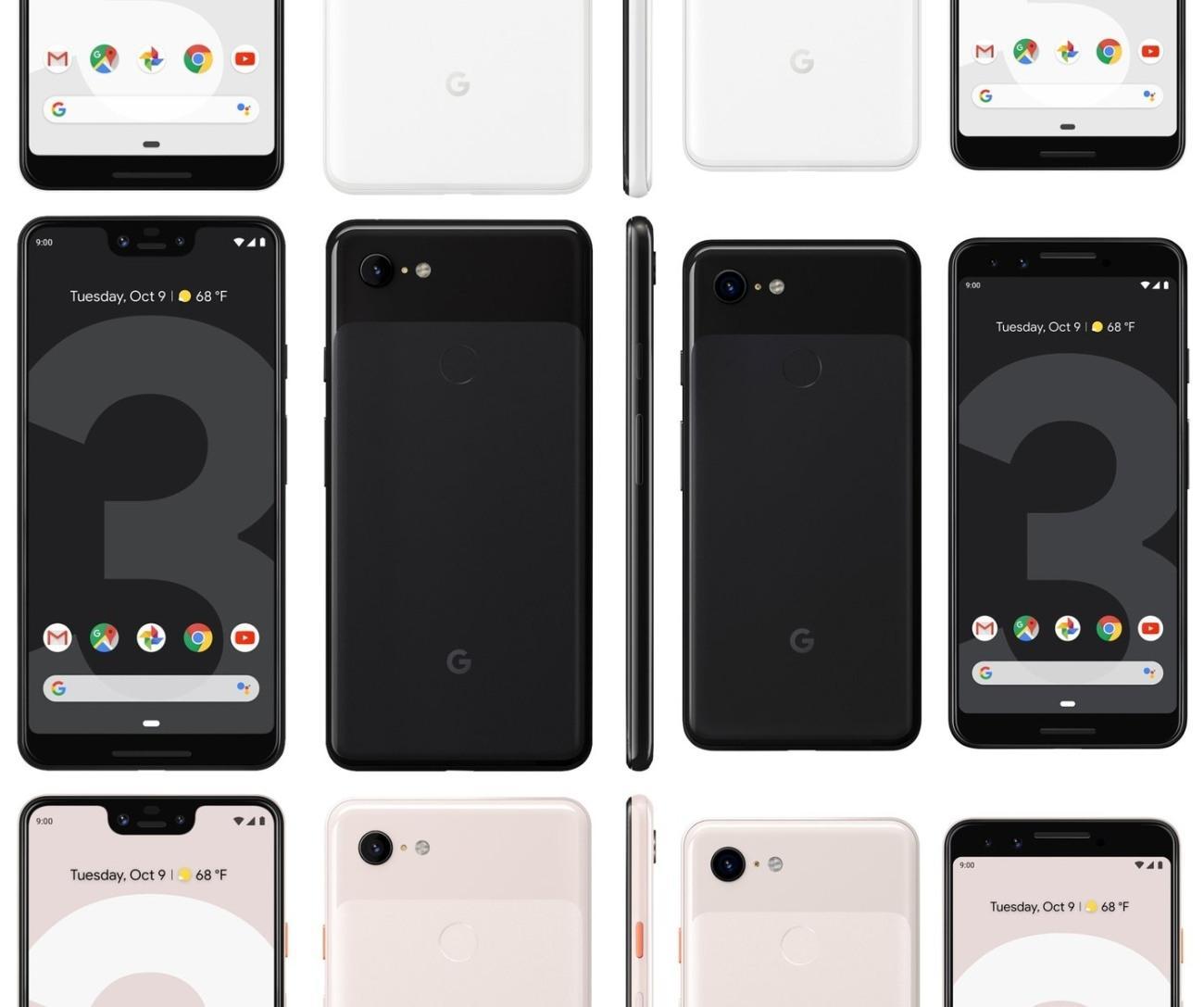 Características del Pixel 3