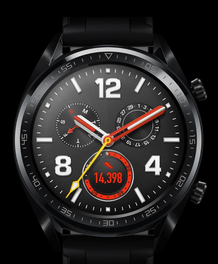Diseño del Huawei Watch GT