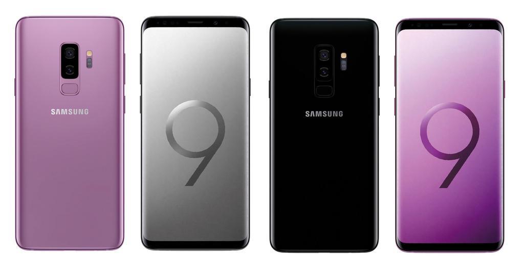 Samsung Galaxy S9 por delante y detrás