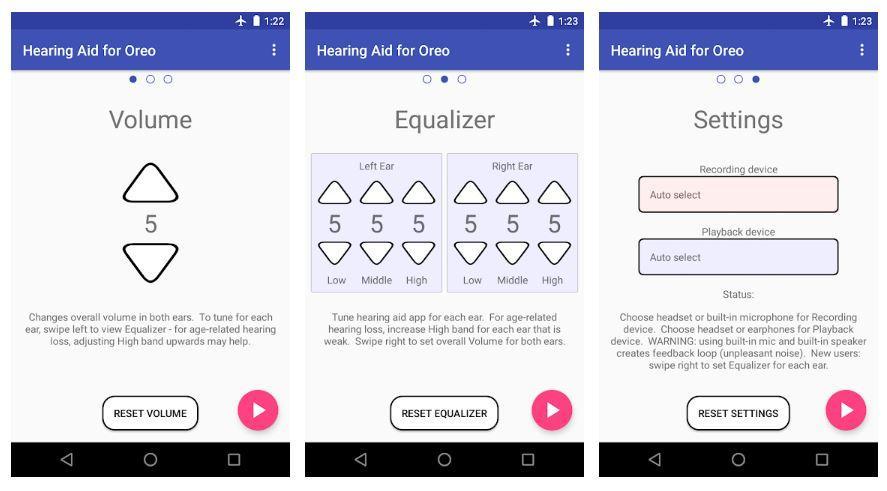 Aplicación Android Super Hearing Oreo 8.0