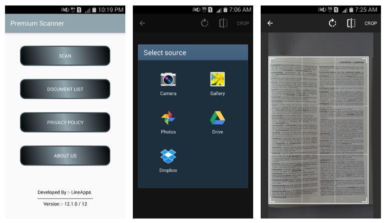 Aplicación Escáner Premium: PDF Doc Scan