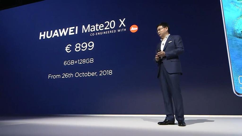 Precio del Huawei Mate 20 X