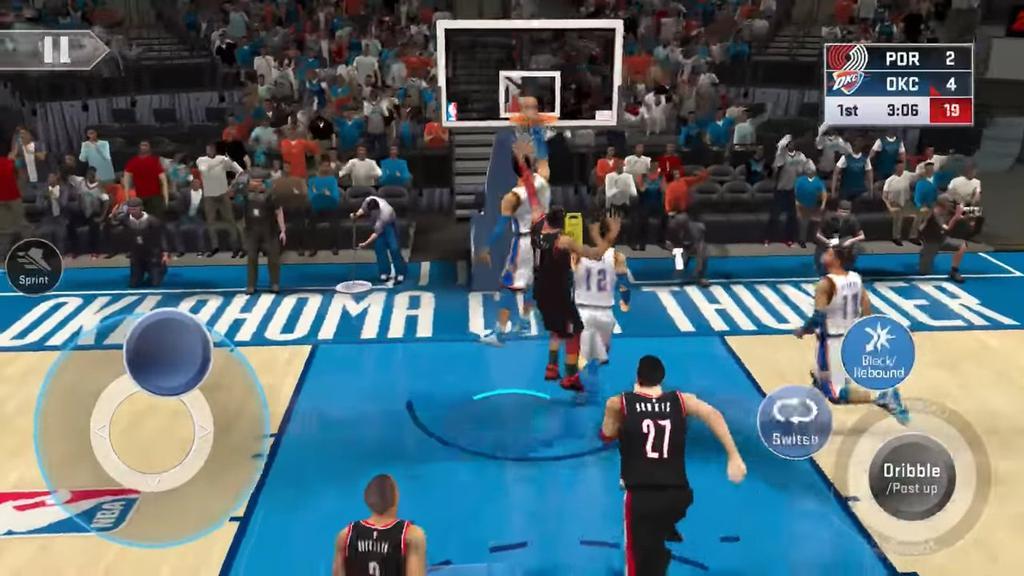 Mate en el juego NBA 2K19