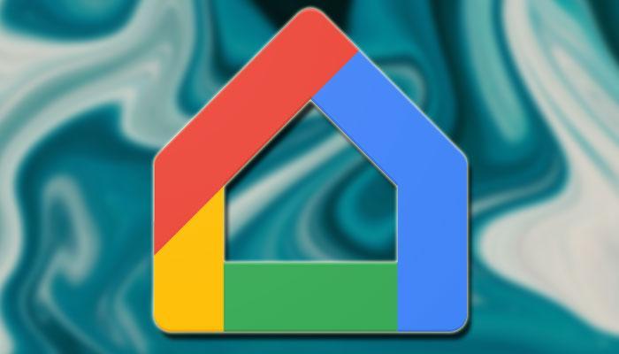 Logotipo de la aplicación Google Home