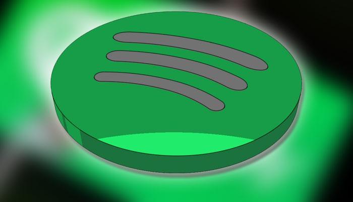 Logotipo de Spotify con fondo verde