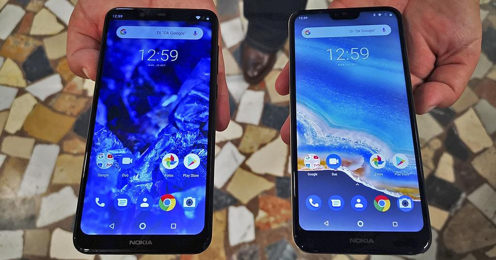 Nokia 5.1 Plus y Nokia 7.1