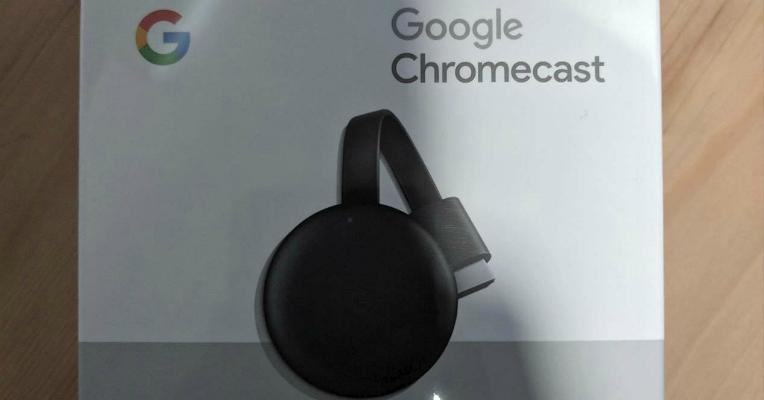 Nuevo reproductor Google Chromecast en su caja