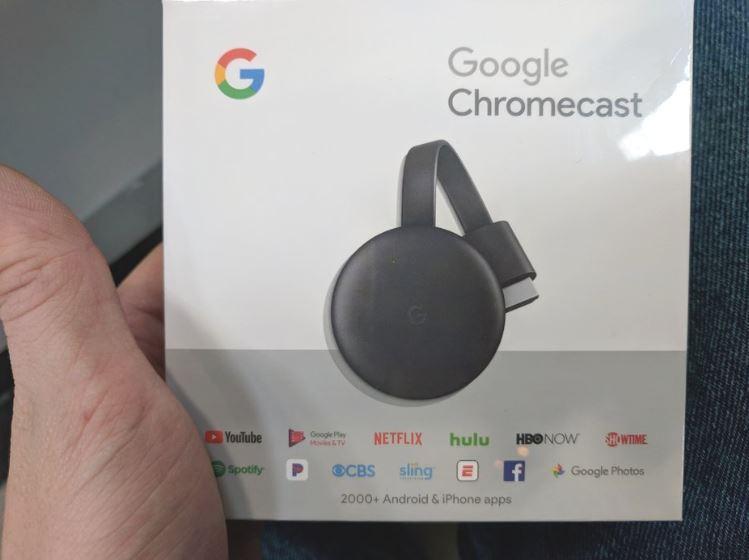 Nuevo diseño de Google Chromecast