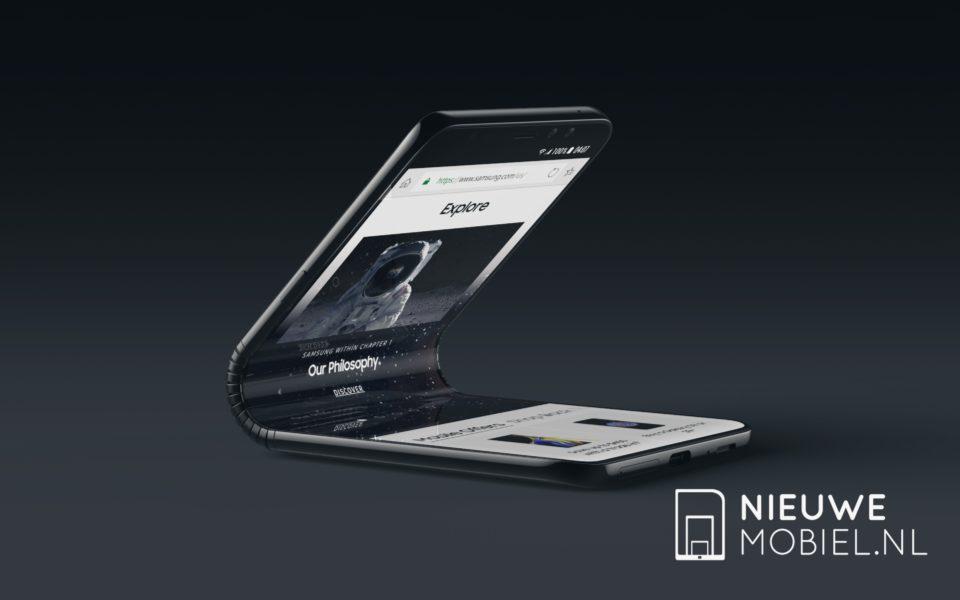 Diseño del Pantalla del samsung Galaxy X