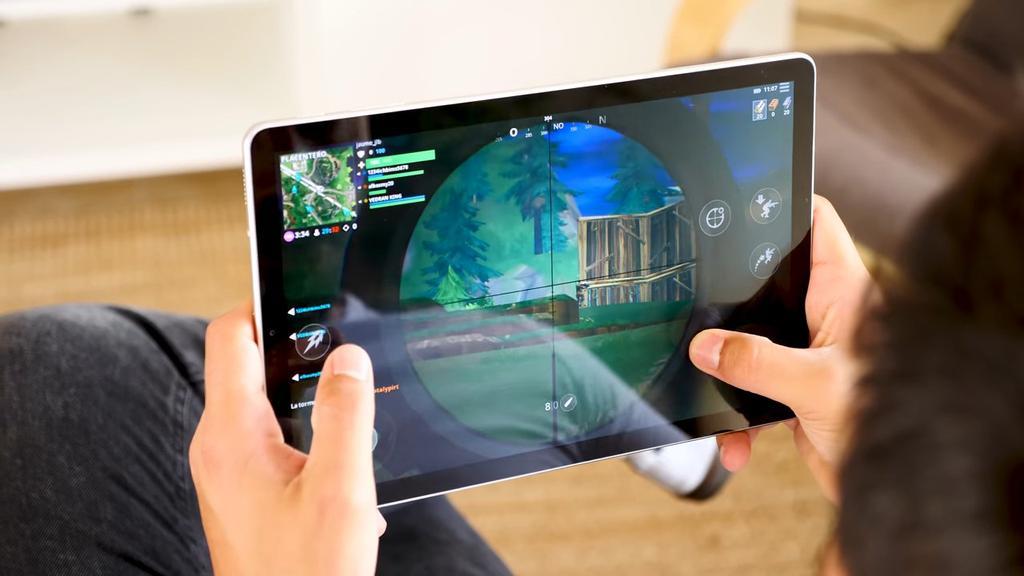Jugando con la Samsung Galaxy Tab S4