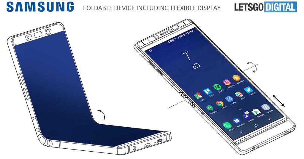 Concepto del Samsung Galaxy X