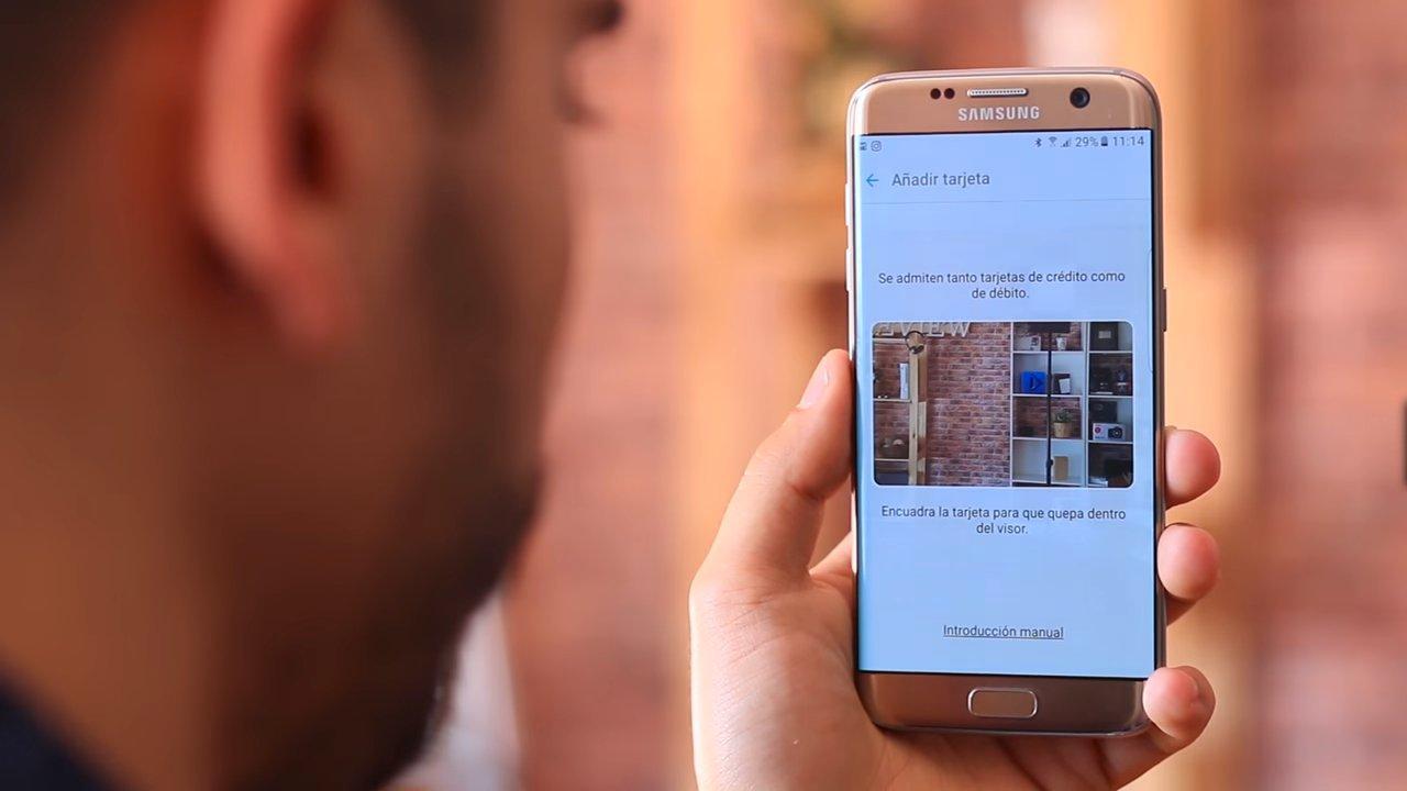 Uso del servicio Samsung Pay