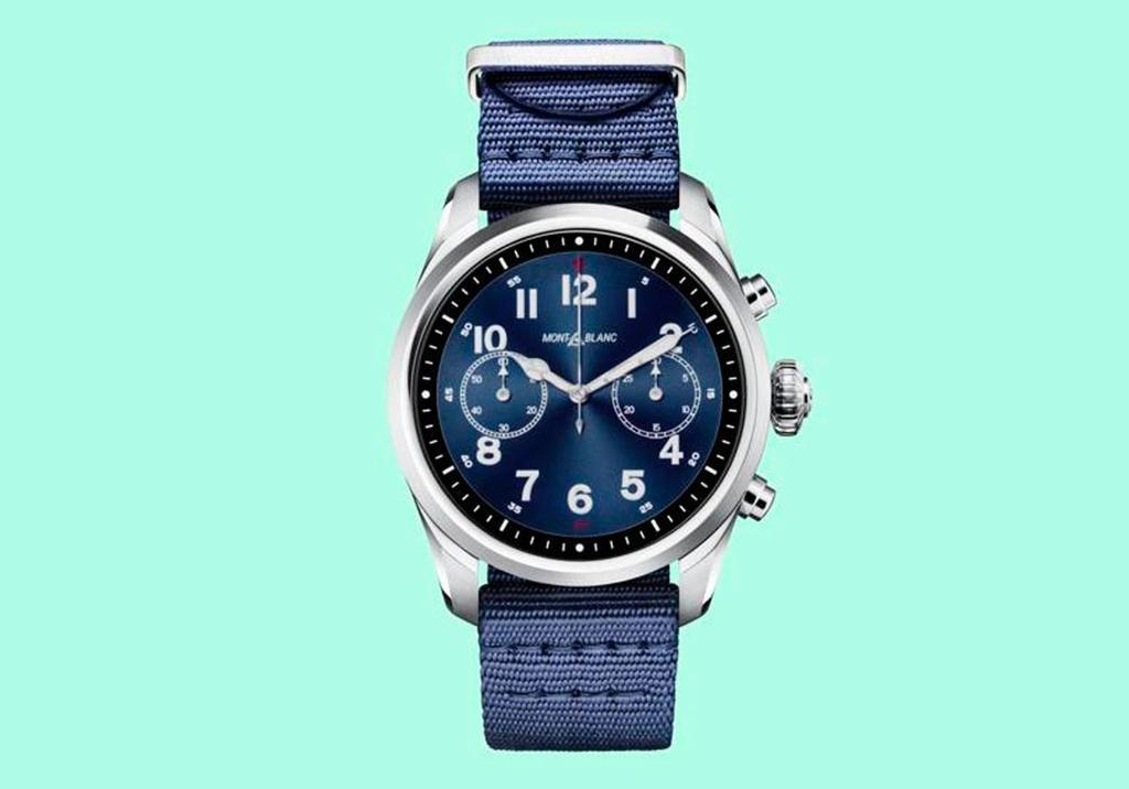 Diseño del reloj inteligente Montblanc Summit 2