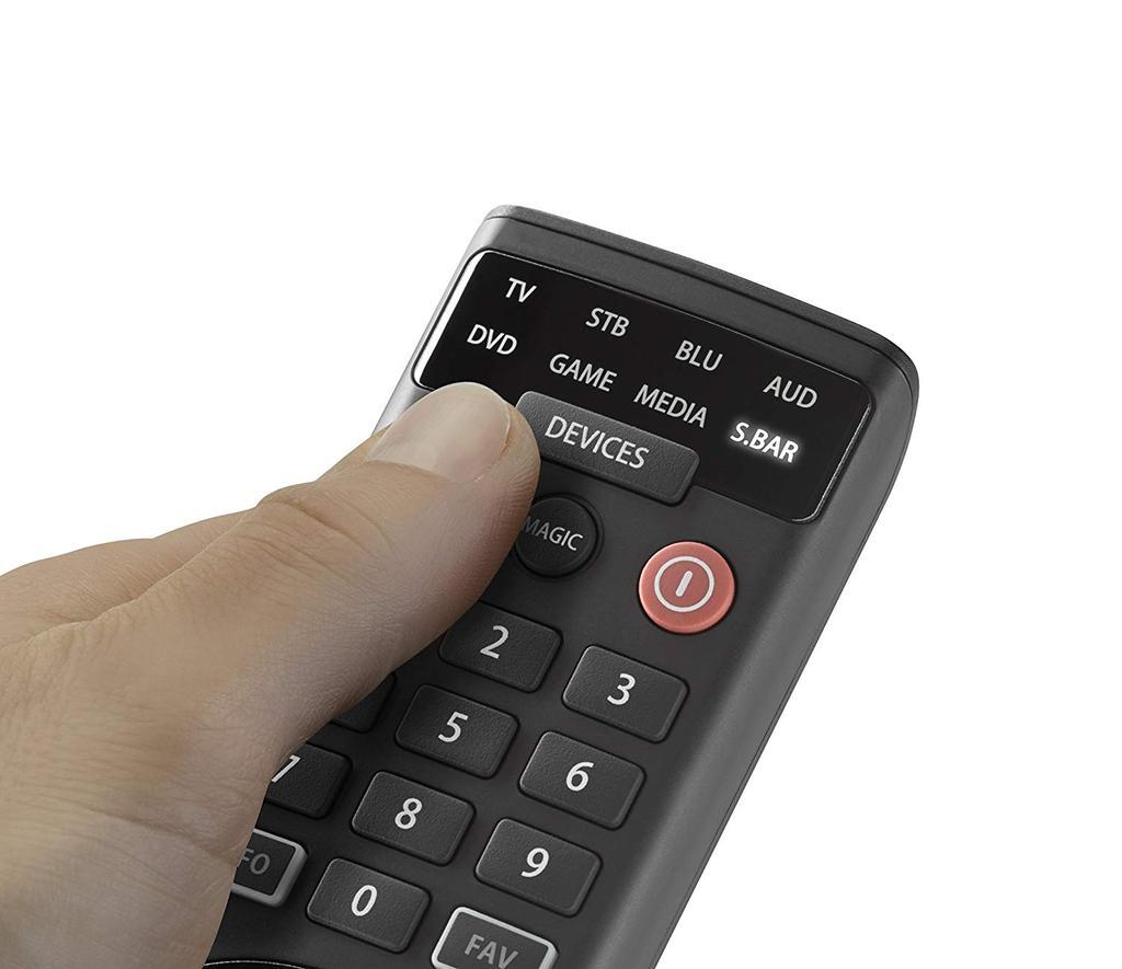 Uso de mandos a distancia universales