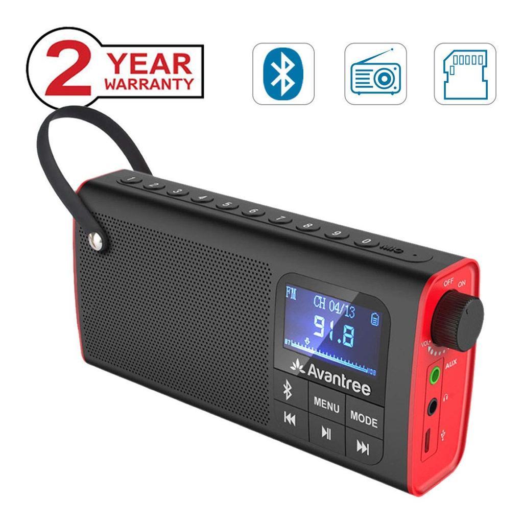 altavoz Bluetooth con Radio FM de Avantree