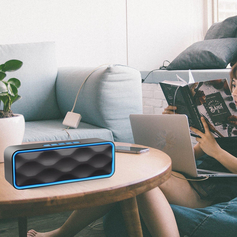 altavoces Bluetooth con Radio FM