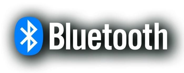Logotipo Bluetooth con sombra