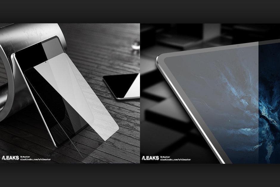 Posible diseño del iPad Pro 2018