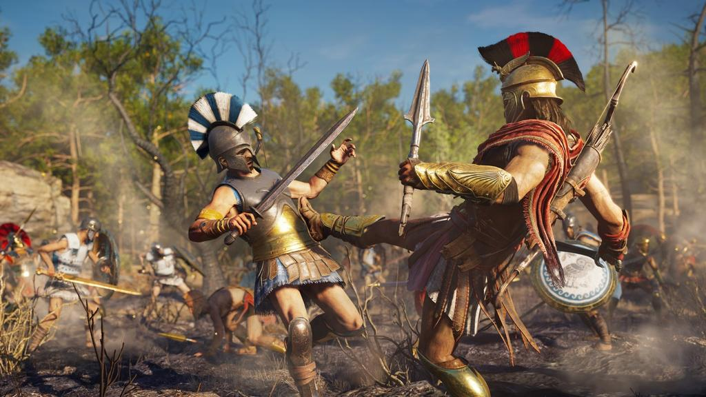 jugar a Assassin's Creed Odyssey