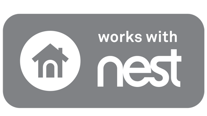 Logotip de Nest con fondo blanco