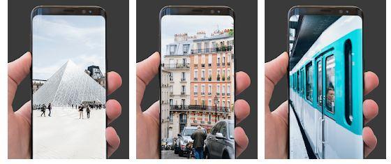 Aplicación Paris Wallpaper para Android