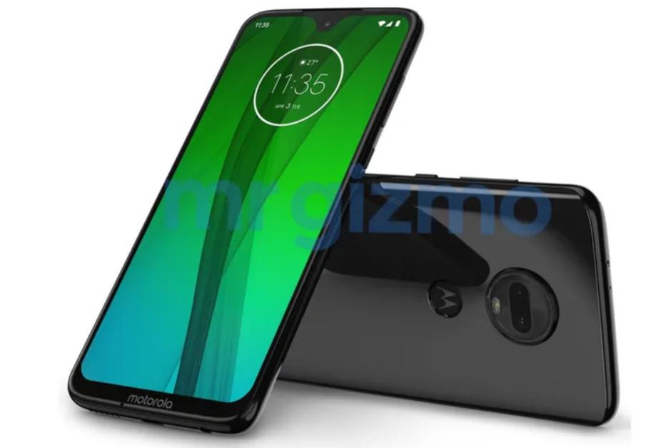 Diseño del Moto G7