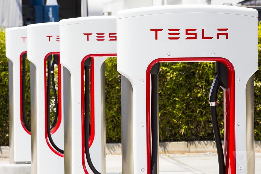 Cargador de Tesla