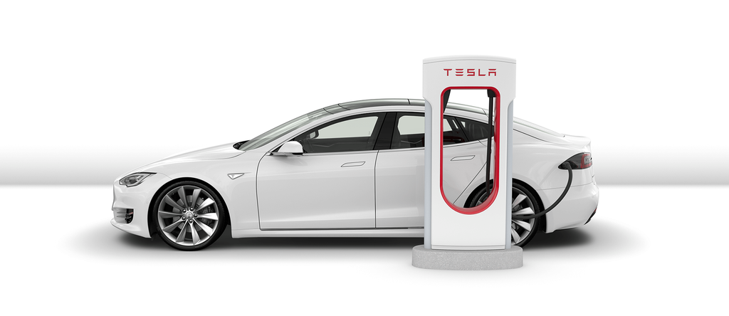 Uso de un cargador de Tesla