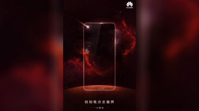 Diseño del Huawei Nova 4