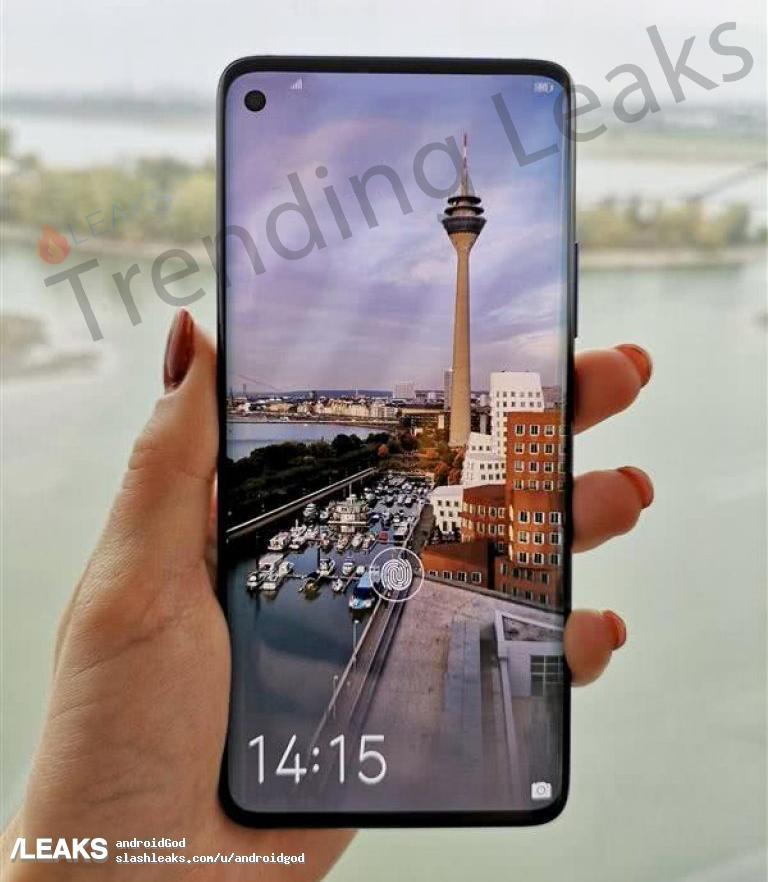 Diseño Huawei Nova 4