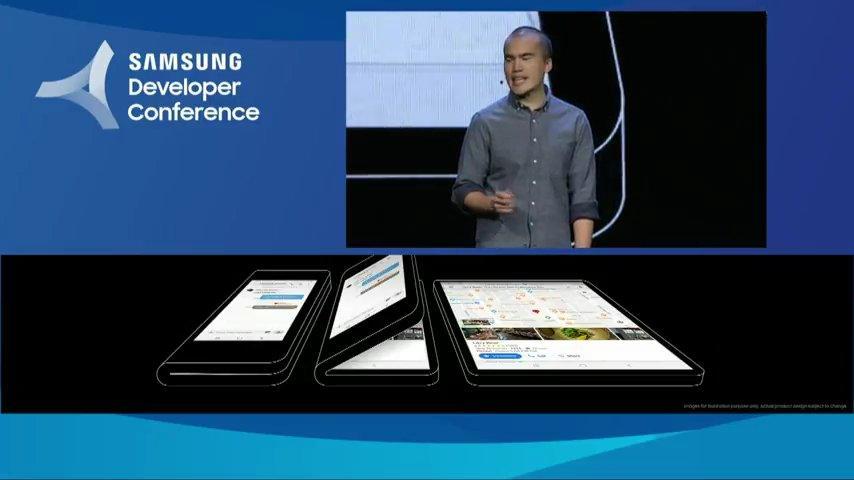 Diseño del Samsung Galaxy X