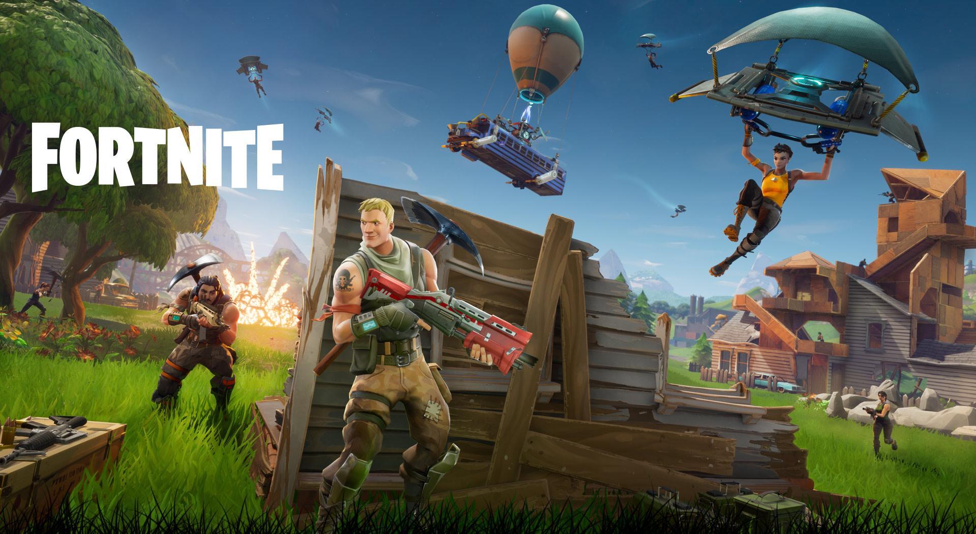 Jugar a Fortnite