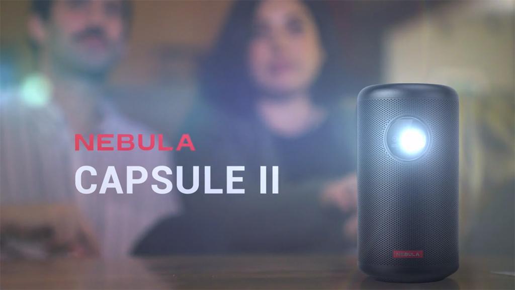 Mini proyector Nebula Capsule II
