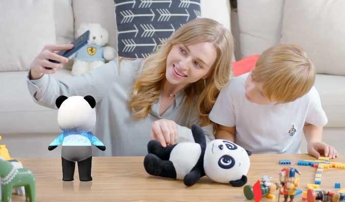 Reconocer objeto 3D de Huawei