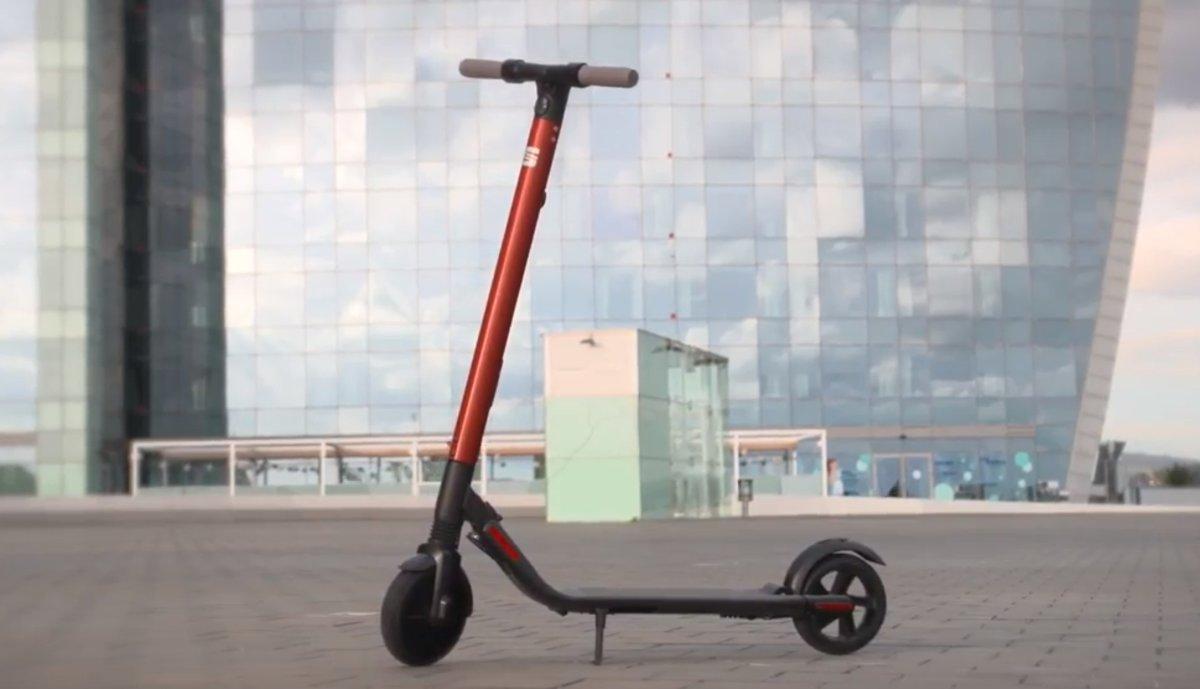 Patinete eléctrico de SEAT