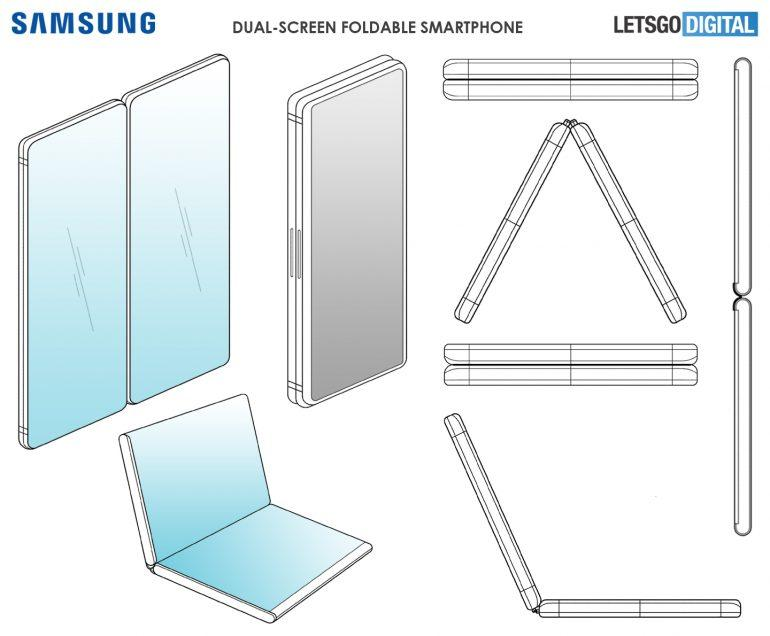 PAtente nuevo Samsung Galaxy X