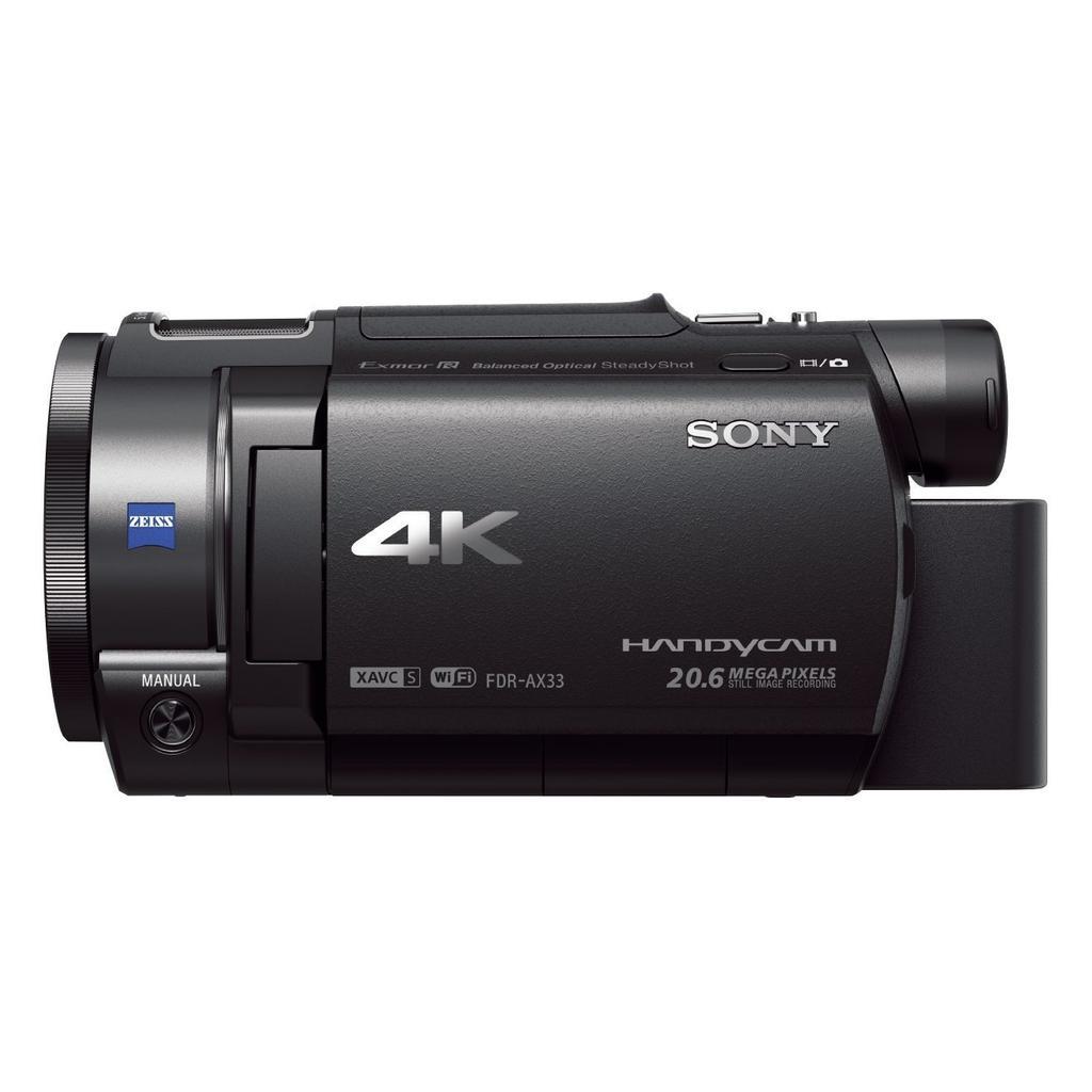 Videocámara Sony Handycam FDR-AX33 4KUHD