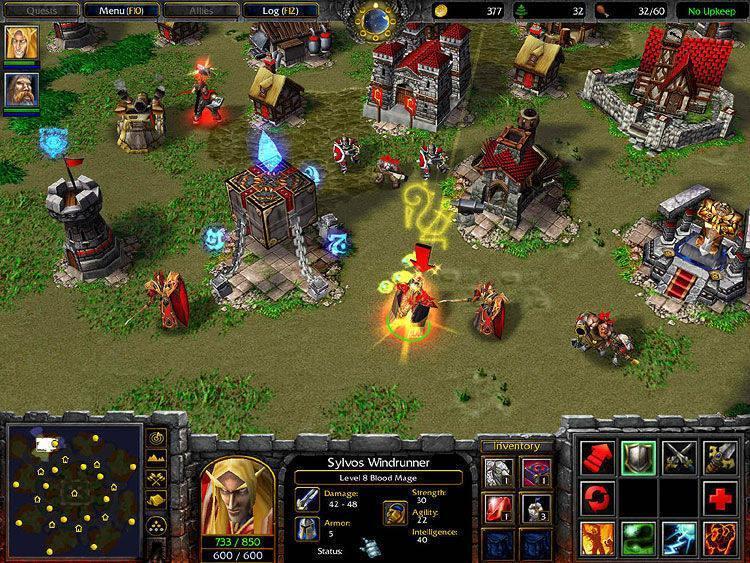 Juego antiguo de Warcraft