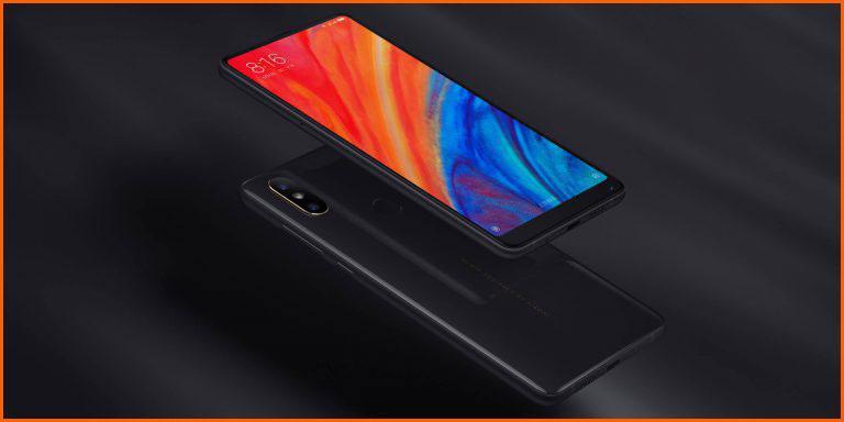 Frontal y trasera del Xiaomi Mi Mix S2