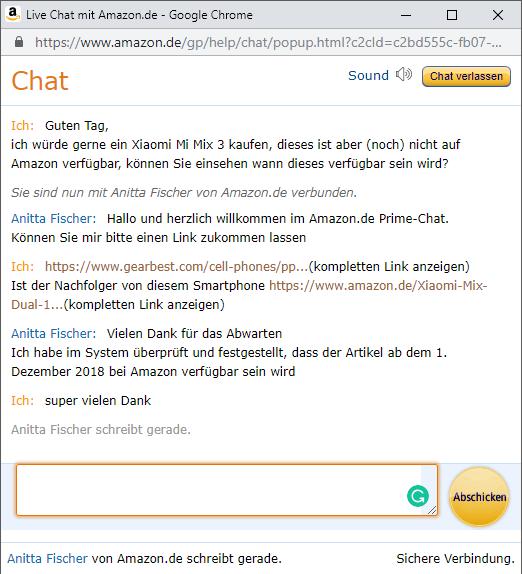 Venta Amazon Alemania Xiaomi Mi Mix 3