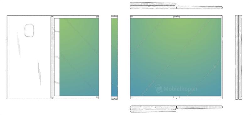 Tablet con pantalla plegable de Samsung
