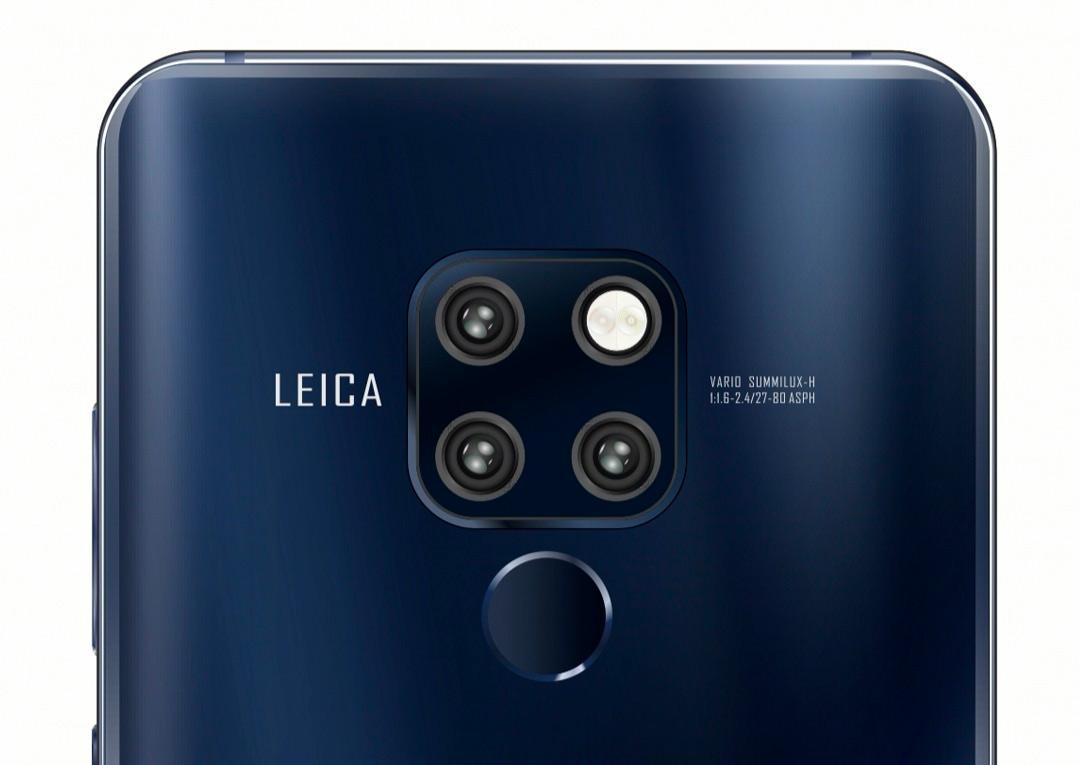 Cámara del Huawei P30