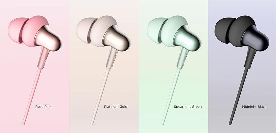 Colores de los auriculares Xiaomi 1MORE Stylish Dual