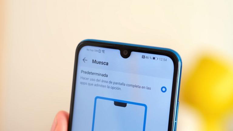 Pantalla del Huawei P Smart 2019
