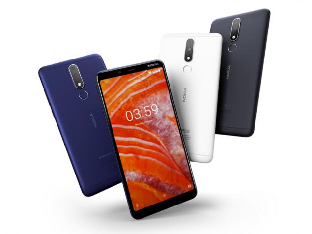 Diseño del Nokia 3.1